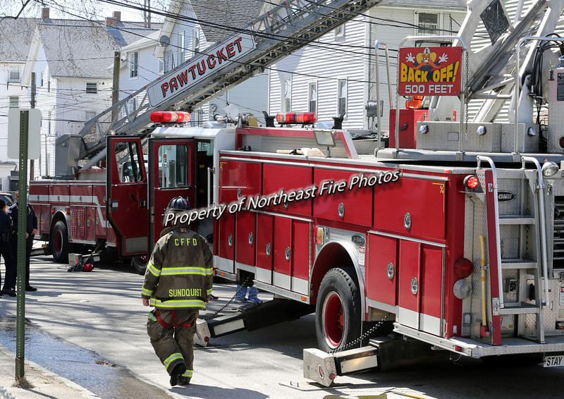 Central Falls- 3rd Alarm- Garfield Street- 4/12/14